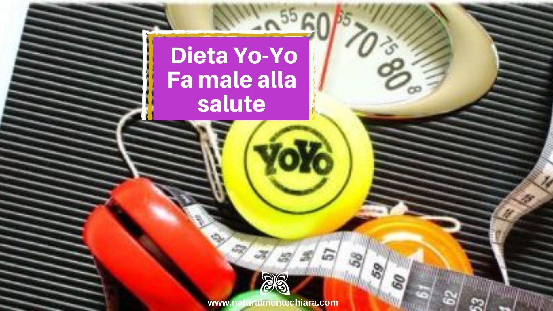 4 Orribili Effetti della Dieta Yo-Yo