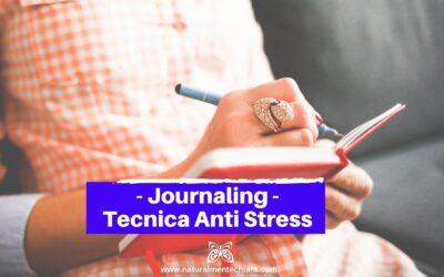 Journaling: Magnifica Tecnica Anti Stress